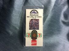 Colorado Rockies 1993 Lapel Hat Vest Pin #8, Sealed Complete & Functional.