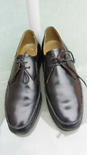 MENS BARKER  ALL LEATHER BLACK LACE UP  SHOES SIZE 8 1/2