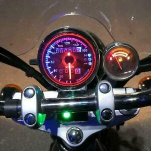 12V Retro Motorcycle Speedometer Odometer with Neutral Gear Headlight Indicator