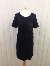 Womens Next Dress - Uk8R - Navy & Black - Great Condition