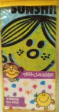 "Window Valance MR. MEN LITTLE MISS Funny Pages MULTI COLOR Standard 84""x15"" New"