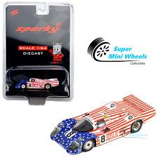 Sparky 1:64 Porsche 956 No.8 3rd 24H Le Mans 1986 (Blue/Red)