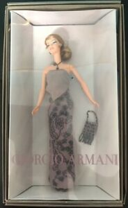 Barbie Giorgio Armani Limited Edition New In Box All Original Packaging