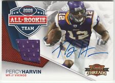 2010 Panini Threads All Rookie Team Percy Harvin Autograph/Jersey