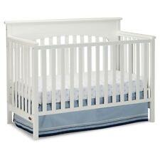 Graco Lauren 4-in-1 Convertible Crib, White
