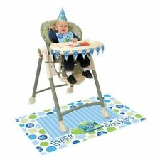 Globos de fiesta color principal azul cumpleaños infantil
