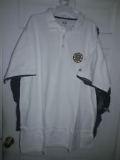 Boston Bruins  Hockey polo Golf Shirt  Majestic Athletic NHL NEW ~ 2XL Tall  ~