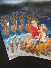 "7 New "" Holiday Season"" Greeting Postcards 4 Different Motives"