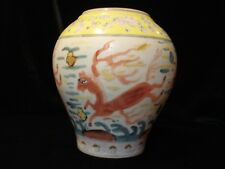 China Antique Jar with 6 Characters Marking