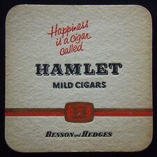 Hamlet Mild Cigars Happiness Is Cigar Called Hamlet Benson Hedges Coaster (B305)