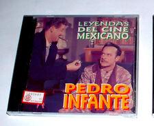 Pedro Infante ( CD NEW ) LEYENDAS DEL CINE MEXICANO  ( 12 Tracce ) Nuovo !!
