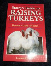 Storey's Guide to Raising Turkeys by Leonard S. Mercia (B/New PB, 2001)