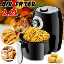 2.2L Air Fryer 1000W Power Oven Cooker Oil Free Low Fat Healthy Frying Chips
