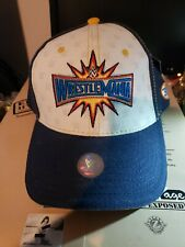 Hard to Find! New Licensed WWE Wrestlemania 33 Baseball Hat SNAPBACK NWT SNAP