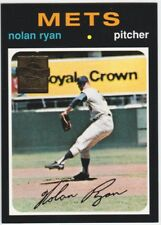 1999 TOPPS NOLAN RYAN 1971 COMMEMORATIVE REPRINT #513 BASEBALL CARD