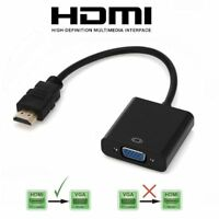 Input HDMI to Output VGA Cable Converter Adapter for apple TV Monitor Xbox DVD