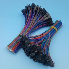 50Pairs SM 3Pin Pitch 2.54mm Male and Female 22AWG 15cm Wire Connector