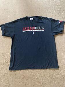 Chicago Bulls - Nike - NBA T-Shirt - XL - Black - Crew Neck - Vintage Top
