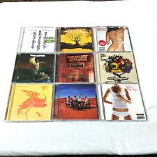 Lot Of 9 - Alternative Indie Emo Rock CDs