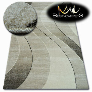 Thick Quality 20mm Modern Design Densely Soft Rugs SHADOW 8595 Large Small Size