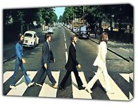 """BEATLES Painting ABBEY ROAD NEW YORK BROADWAY Times Square Rock Music 16/""""x20/"""""""