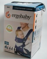 Ergobaby Carrier 360 All Carry Positions Baby Carrier Navy Free S/H