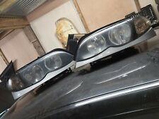 Bmw e46 angel eye head lights face lift saloon touring