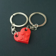 LEGO Love Heart for Lover Red Keychain Keyring 3176-021-2 NEW