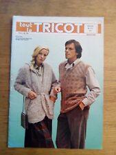Revue tout le TRICOT N°171 1981