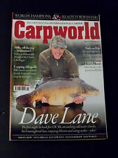 CARPWORLD Nov 2011 #254 Dave Lane - Nash On Rigs