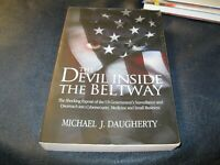The Devil Inside The Beltway Book Autographed by Michael Daugherty