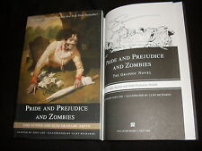 Seth Grahame-Smith signed Pride and Prejudice and Zombies graphic novel 1/1 SC