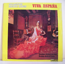 """2 x 33T VIVA ESPANA Disques Vinyles LP 12"""" CADIX GALLO DE TRIANA -CARRERE 67.059"""