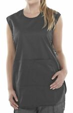 More details for poly-cotton workwear p/c tabbard black medium
