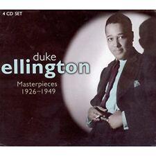 DUKE ELLINGTON - MASTERPIECES 1926-1949 4 CD NEUF