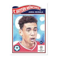 2020 Topps UCL Living Set UEFA Champions Jamal Musiala RC #248 FC Bayern Munchen