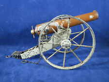 Large Marklin or Bing Spring loaded tin firing field cannon