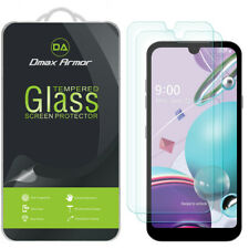 2-Pack Dmax Armor Tempered Glass Screen Protector for LG Tribute Monarch