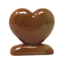 620g Stone Heart - Red Agate - 3.97 inches - Beautiful - Some Flaws - #18