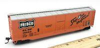 HO Scale Train BACHMANN 43101084 Frisco 51 Door Box Car #15034 W/ Spring Coupler