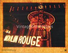 MOULIN ROUGE, original 2001 mint Lobby Card Set, Nicole KIDMAN, Ewan McGREGOR