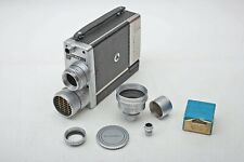 Bell & Howell 16mm Camera+20mm 1.9 Super-Comat+1-1/2x Wide Angle Lens++WORKS