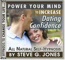 DR.STEVE G JONES INCREASE YOUR DATING CONFIDENCE SELF HYPNOSIS CD
