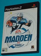 Madden 2001 - Sony Playstation 2 PS2 - PAL