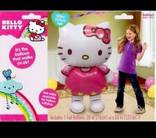 HELLO KITTY JUMBO AIRWALKER AIR WALKER MYLAR FOIL PARTY BALLOON 50""