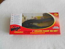 "WIGO CERAMIC 1"" DAMP OR DRY FLAT IRON STRAIGHTENER NIB FREE SHIPPING"