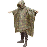 Dpm Poncho Waterproof Army Hunting Military SAS Camo
