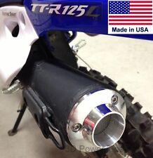 YAMAHA TT-R125 TT-R110 TT-R50 TTR EXHAUST 2D POWER TIP w/ SPARK ARRESTOR SCREEN