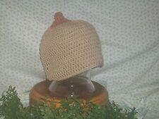 Homemade Crochet Boob Hat