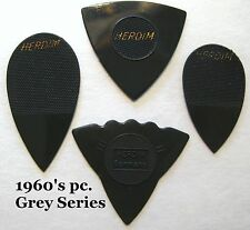 Vintage Guitar Picks  - 1960's Herdim 4pc Collection - Old Guitar Picks -Germany